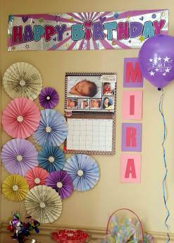 Mira's 1st Birthday
