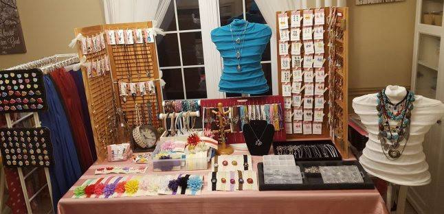 craft show set-up