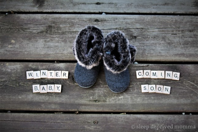 boots baby announcement
