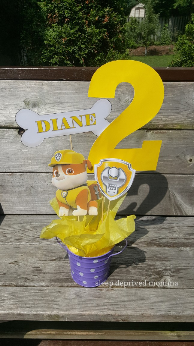paw patrol rubble birthday centerpiece.jpg